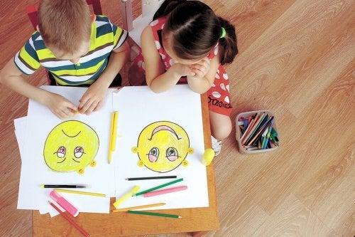 Det är viktigt att barn lär sig förstå sina känslor