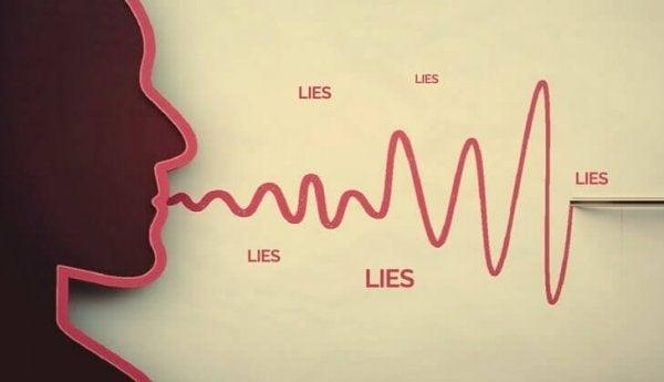 hur fungerar en lögnares hjärna?