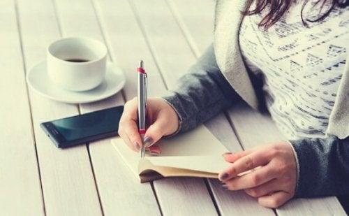 Fem-minutersjournalen: en populär dagbok