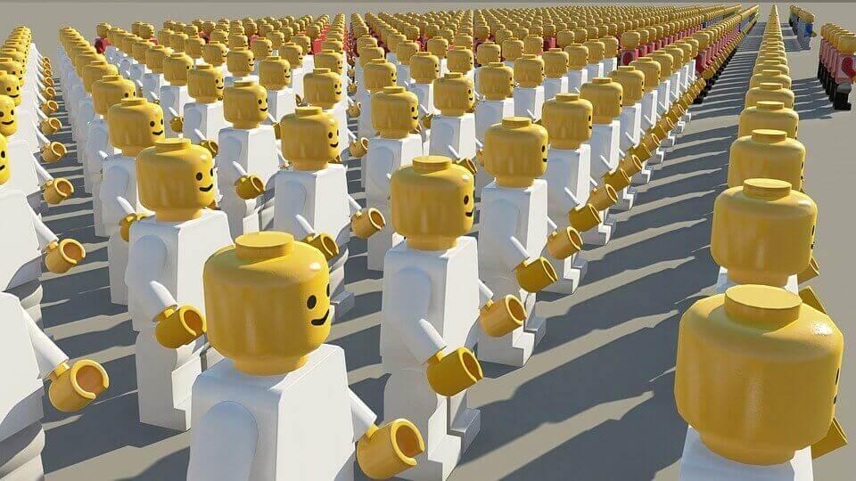Legogubbar