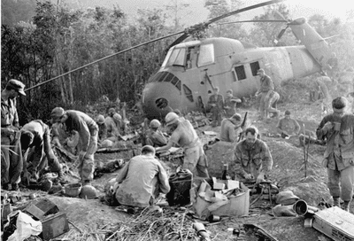 Foto från vietnamkriget