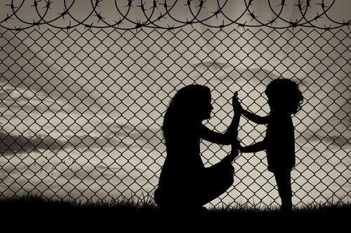 Flyktingarnas drama: i ingenmansland