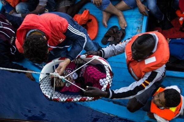 flyktingars drama