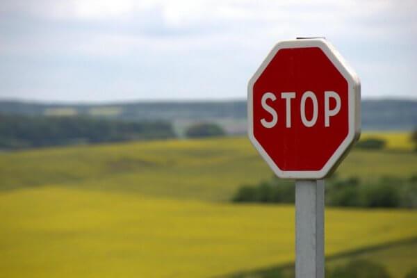 att utöva tanke stopp
