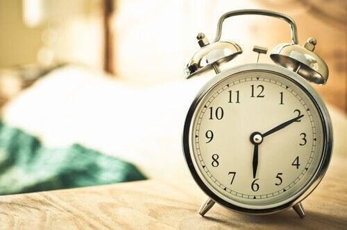 Lär dig att gå upp tidigt.