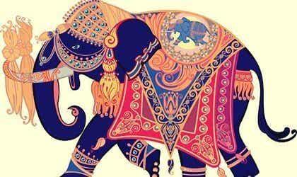 Den vackra berättelsen om elefanten & vigselringen
