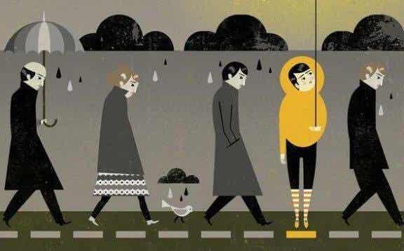 5 skillnader mellan sorg och depression