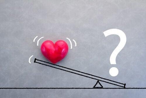 Hitta balansen i förhållandet