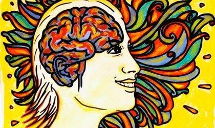 Lycka är lokaliserad i din vänstra hjärnhalva