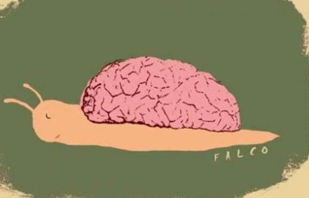 Långsam hjärna