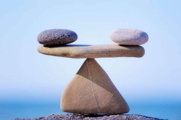 Balanserande stenar.