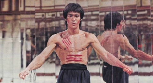 Bruce Lee i film.
