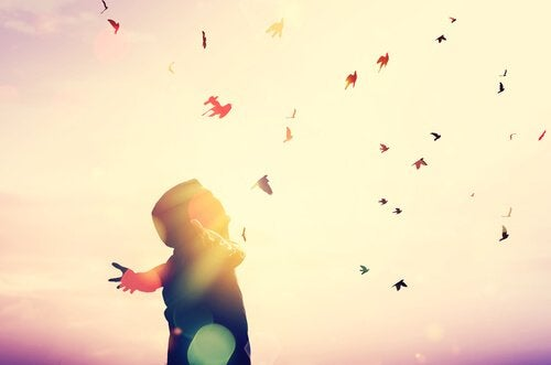 Att flyga högt genom att genomgå en förändringsprocess.