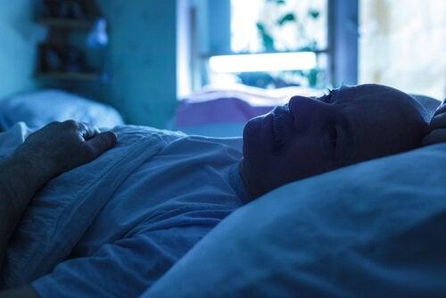 Andropaus kan orsaka sömnstörningar hos män