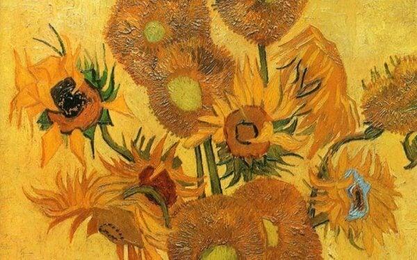 Van Goghs solrosor