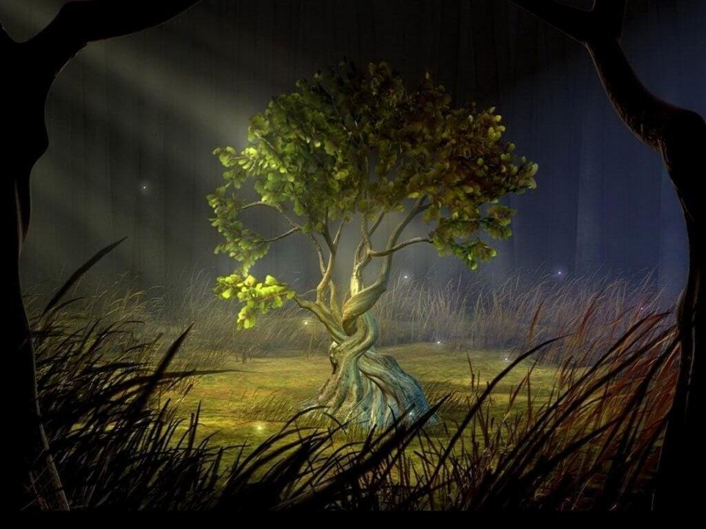 Önsketrädet gör att människans önskningar går i uppfyllelse