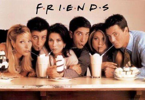 Vänner bidrog till att göra kafélivet populärt