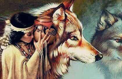 Dakotalegenden om kvinnan och vargarna