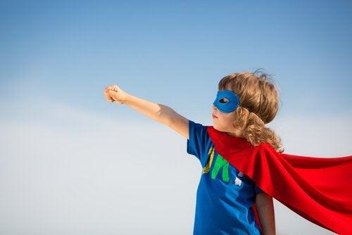 Barn som superhjälte