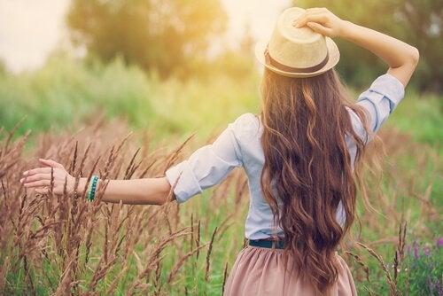 Lycka är att veta att man inte är vilse