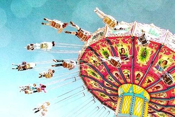 Karusell som representerar känslorna.