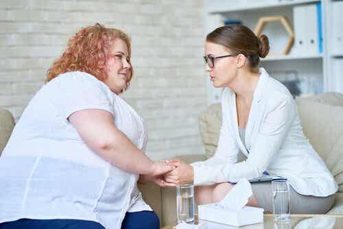 Fetma och övervikt: hur en psykolog kan vara till hjälp