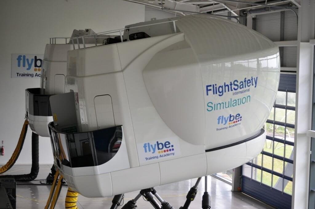 En flygsimulator