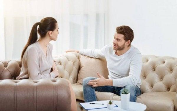 Par i soffan