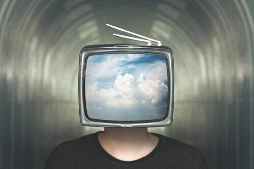 TV på huvudet