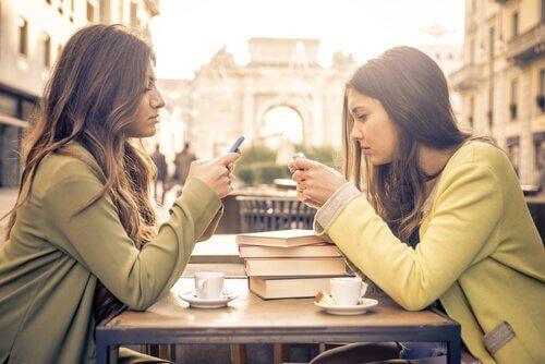 Vänner med mobiler