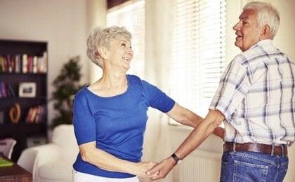 Fördelarna med dans i ålderdomen