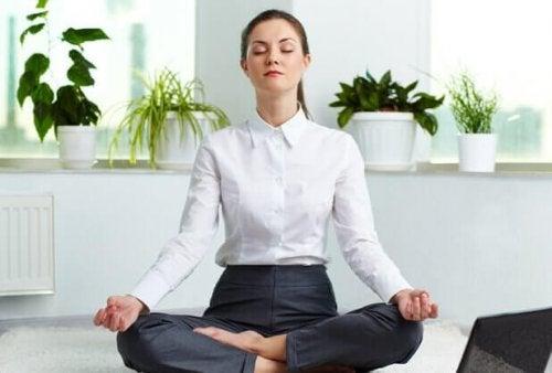 En mediterande kvinna