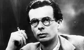 Foto på Aldous Huxley.