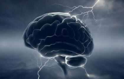 Relationen mellan migrän och dopamin i hjärnan.