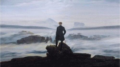Person vid havet