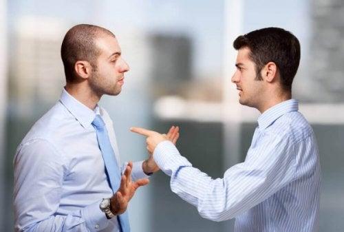 Män som grälar