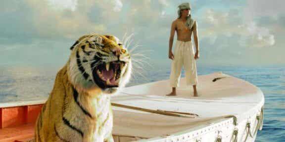 Berättelsen om Pi: fantasi som försvarsmekanism