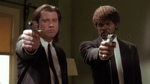 Scen ur Pulp Fiction
