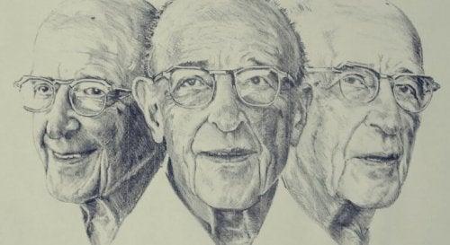Tre skisser av Carl Rogers