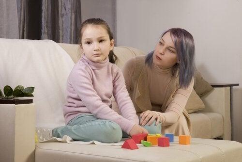 Autistisk dotter