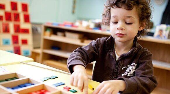 Montessori-metoden för inlärning
