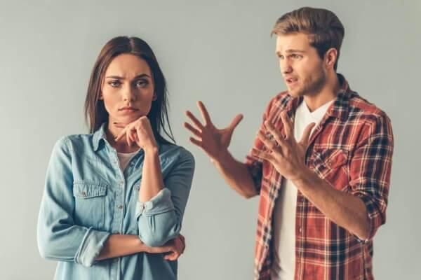 par som grälar