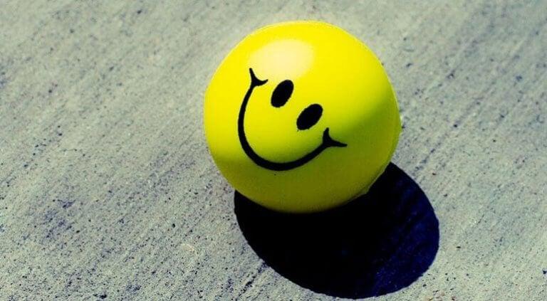 Att ha en positiv attityd på jobbet.
