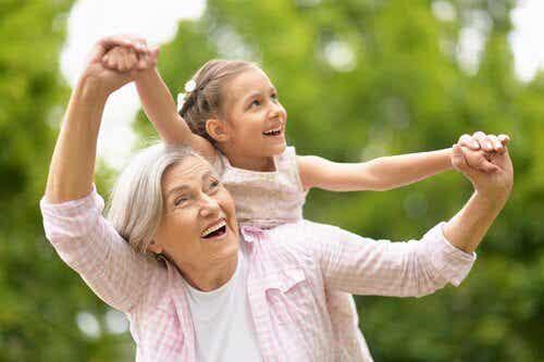 Far- och morföräldrar och deras roll i familjen