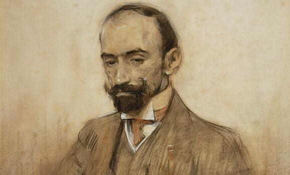 Porträtt av Benavente