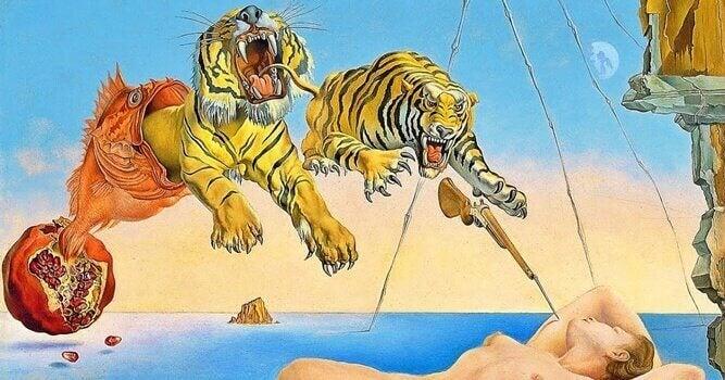Människa och tigrar.