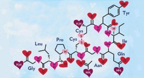 kemisk karta för oxytocin