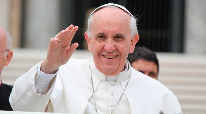 Påve Francis.