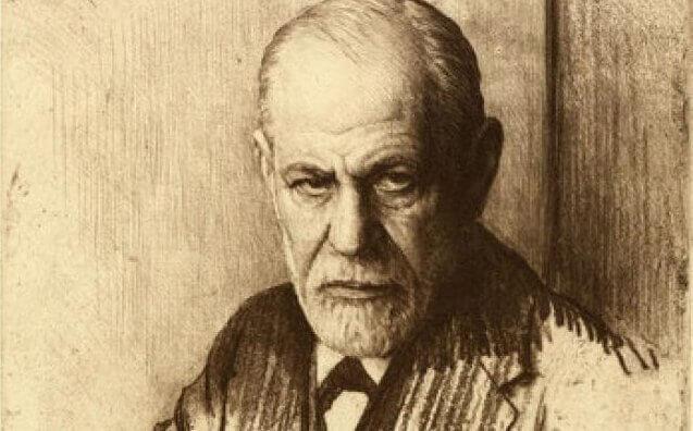 Böcker om psykoanalys av Freud.