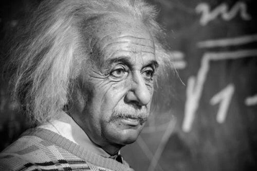 Einstein undervisar.
